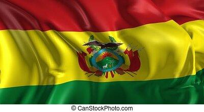 drapeau, bolivie