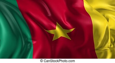 drapeau, camerounais