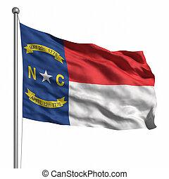 drapeau, caroline nord