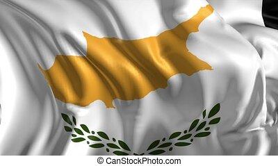 drapeau, chypre