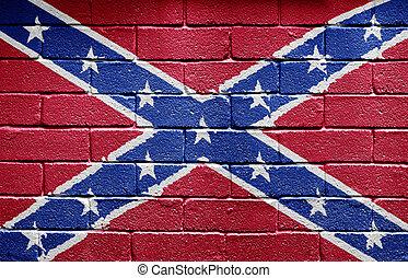 drapeau, confédéré