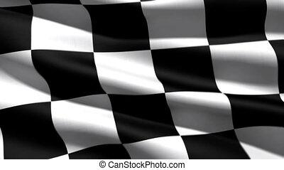drapeau, course