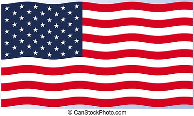 drapeau, etats unis, amérique