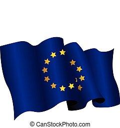 drapeau, européen