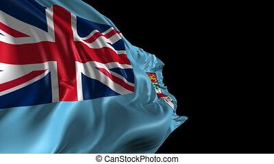 drapeau, fidji