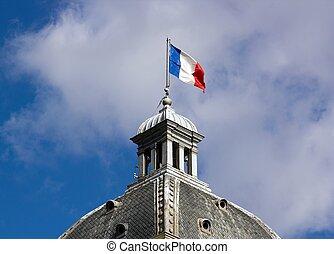 drapeau, francais, sénat