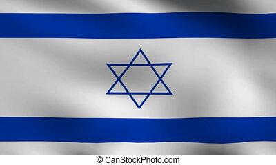 drapeau, israël, fond
