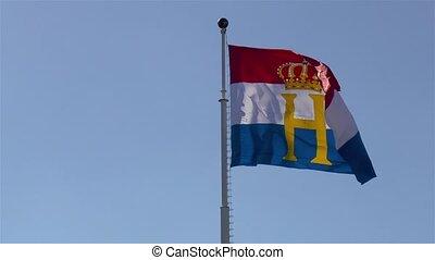 drapeau, luxembourg., national