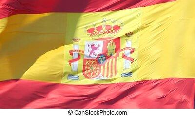 drapeau national, espagnol