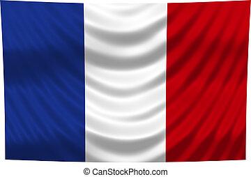 drapeau national, france