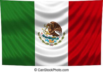 drapeau national, mexique