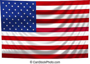 drapeau national, usa