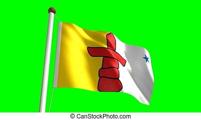 drapeau, nunavut