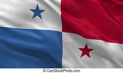 drapeau, panama, boucle, seamless