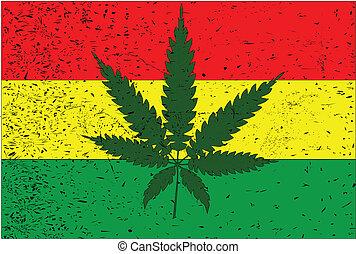drapeau, rastafarian