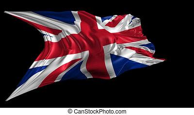 drapeau, royaume, uni