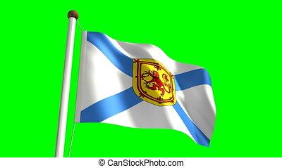 drapeau, scotia, nova