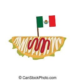 drapeau, taco