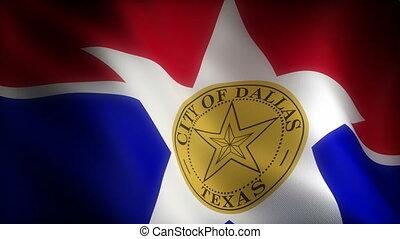 drapeau texas, dallas