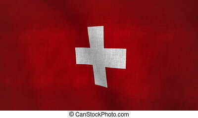 drapeau, texture(loop-able), suisse
