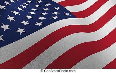 drapeau, usa