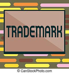 droit d'auteur, texte, projection, trademark., intellectuel, signe, protection, photo, conceptuel, legally, propriété, enregistré