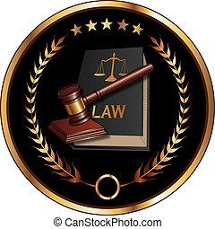 droit & loi, cachet