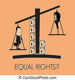 droits, égal