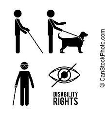 droits, conception, incapacité