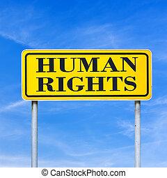 droits homme