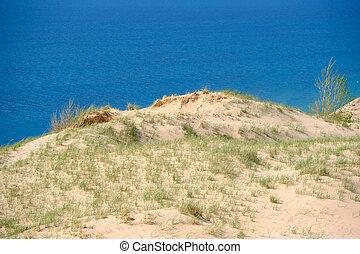 dunes, lakeshore, national, ours, dormir
