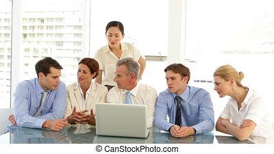 dur, équipe, fonctionnement, business