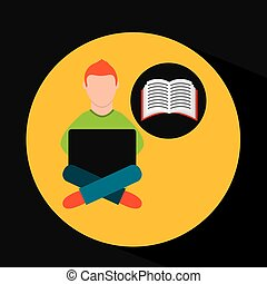 e-apprendre, ligne, formation, education-student