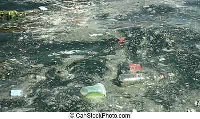 eau, 1080p, entiers, hd, pollution