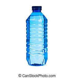 eau, blanc, bouteille, fond