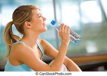 eau, boisson