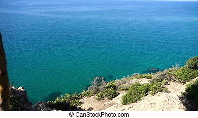 eau claire, exotique, bleu