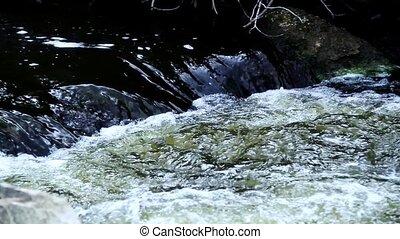 eau, fond