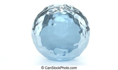 eau, globe