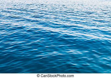 eau, mer, surface, fond