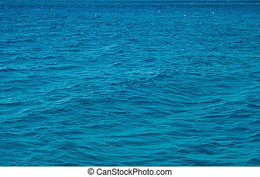 eau, mer, surface