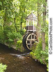 eau, moulin