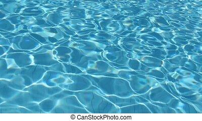 eau, piscine, texture, fond, /