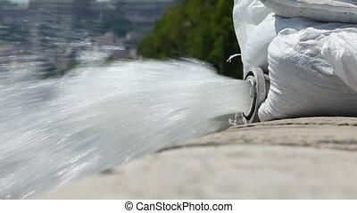 eau, pompage
