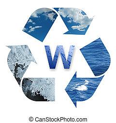eau, recyclage