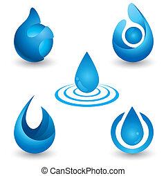 eau, symbole