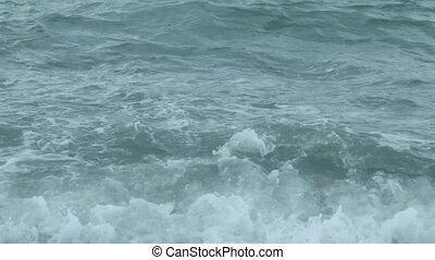eau, texture, mer