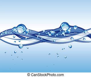 eau, vecteur