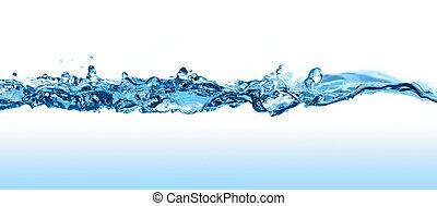 eau, wave.