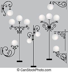 eclairages rues, 333